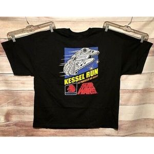 Star Wars T-shirt Smuggler Series Kessel Run 3XL